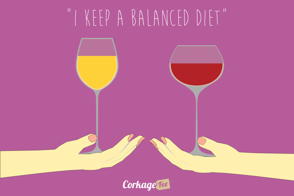 Balanced-Wine-Diet